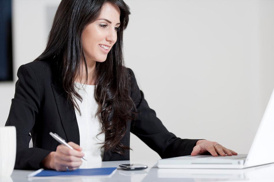 Women reviewing CVs